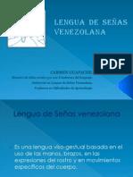 LENGUAJE DE SEÑAS VENEZOLANA