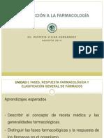 01 INTRODUCCIÓN A LA FARMACOLOGÍA