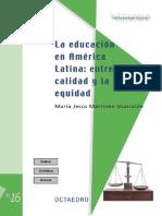 Calidad en Educacion America Latina PDF
