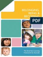 1  eylf early years learning framework