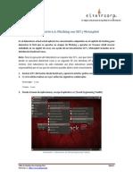 Lab Cap6 Phishing Set Metasploit