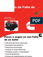 Análisis de fallas de turbos