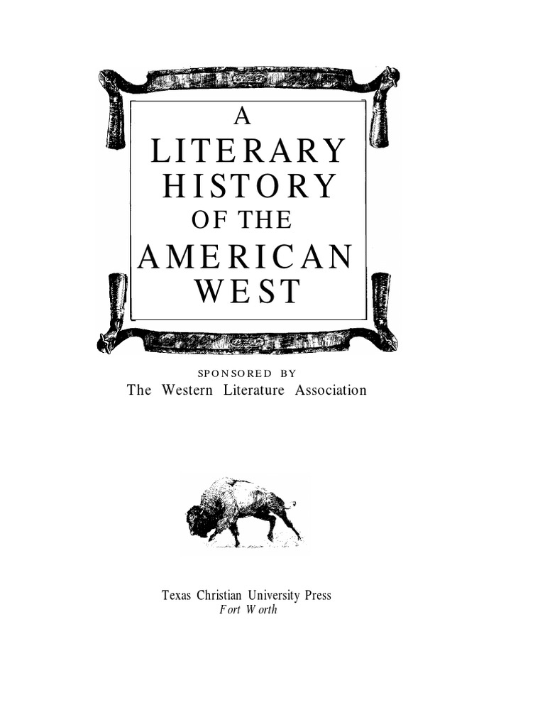 34bea77db6e A Literary History of the American West