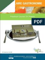 Moleculair Gastronomie Practical 1