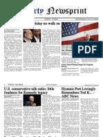 Libertynewsprint 8-27-09 Edition