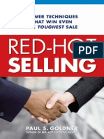 Red Hot Selling - Paul Goldner