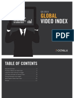 Ooyala Global Video Index Q3 2013