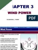 Ch.3 Wind Power