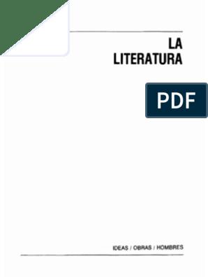 L Gros Bernard Y Aa Vv La Literatura Desde El