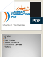 Shaheen Foundation HR department