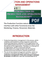 Introduction to Production Management by Kari