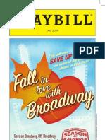 Season of Savings Playbill