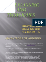 163887130 Audit Planning Techniques Ppt
