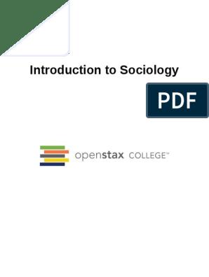 OpenStax Sociology | Émile Durkheim | Sociology