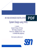 VHDL Basics and System Design