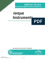 ASME B107.300-2010 Torque Instruments