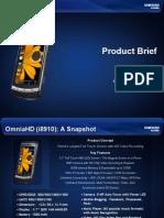 OmniaHD (i8910) Product Brief