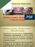 Upla Adm Trib Detracciones, Retenciones y Percepciones 2013-II 2da Parte 1