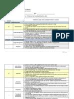 Evaluation Criteria Soft Skills