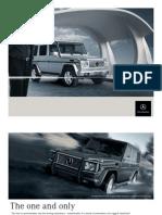 Mercedes G-klasse 2005 brochure