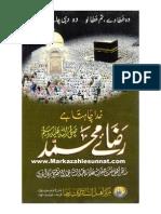 Raza-E-Muhammad(Sallalahu Alaihi Wa Sallam) by Hazrat Allama Abdul Sattar Hamdani(Maddazillahul Aali)