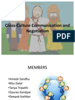 Cross-Culture Communication and Negotiation Ppt