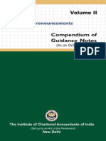 Handbook Compendium of Guidance Notes Vol II 2011