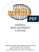 LeFiell Beef Catalog