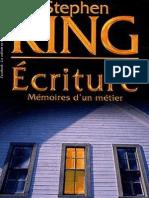 Ecriture, mémoire d'un métier - Stephen King