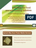 Nanotechnology for Food and Bio Processing Industries - Suresh Neethirajan
