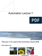 Automation Lecture 7
