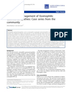 Nutritional Management of Eosinophilic