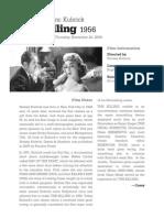 The Killing Film Notes