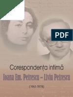 Ioana Em. Petrescu Liviu Petrescu Corespondenta CD