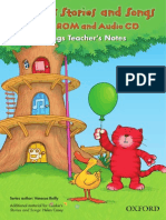 Cookie's Three in a Tree - Stories & Songs DVD-ROM_Songs_Teacher's Notes