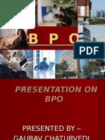 Presentation on Bpo