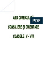 Consiliere Si Orientare v VIII