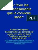 Cuidado Con BoxExpress