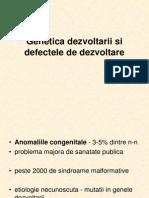 Curs Anomalii Congenitale Handouts