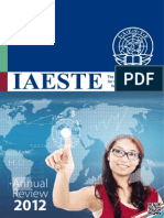 IAESTE Annual Review 2012 s