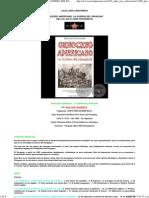 JULIO JOSÉ CHIAVENATO - GENOCIDIO AMERICANO. LA GUERRA DEL PARAGUAY