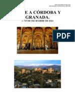 Viaje a Córdoba y Granada