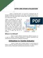 Steam Utilization in Textile Induastry