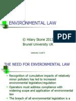 Environmental Law Final-2013