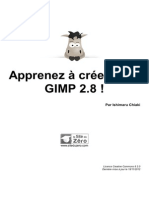 Apprenez à creer avec Gimp2.8