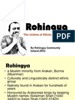 Rohingya the Victims of Ethnic Cleansing
