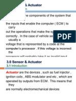 Unit 3 Sensor & Actuator II