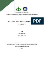 Angelika Referat PDA (Patent Ductus Arteriosus)