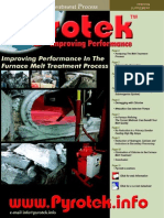 Improving Performance in Melt Treatment Insert Web
