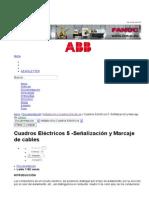 Cuadros Eléctricos 5 -Señalización y Marcaje de cables - InfoPLC